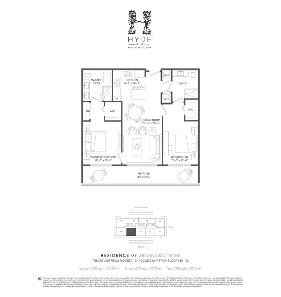 Hyde Beach House - Floorplan 8