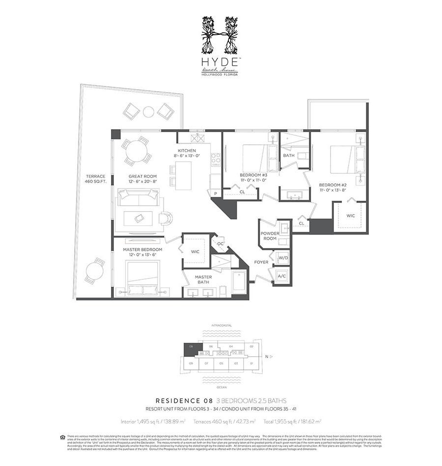 Hyde Beach House - Floorplan 9