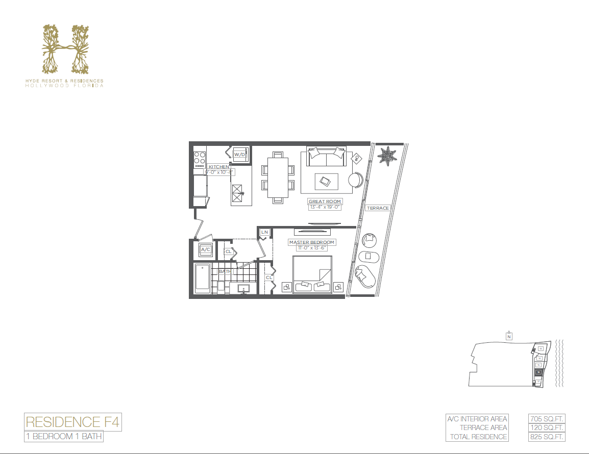Hyde Beach Resort & Residences - Floorplan 9