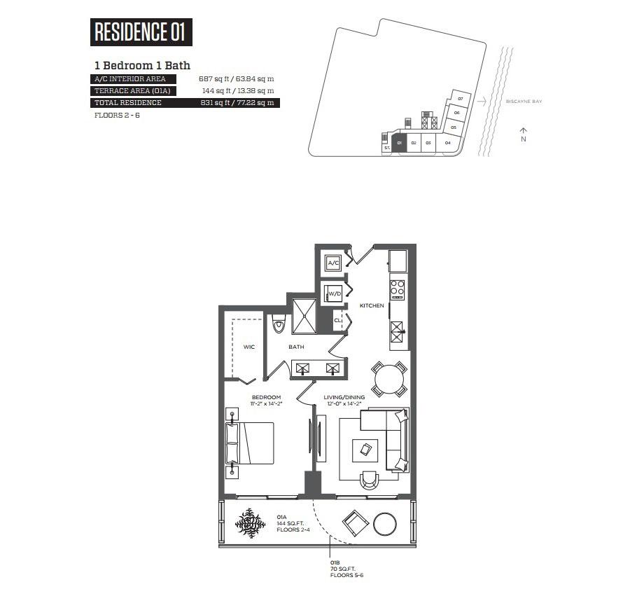 Hyde Midtown - Floorplan 2