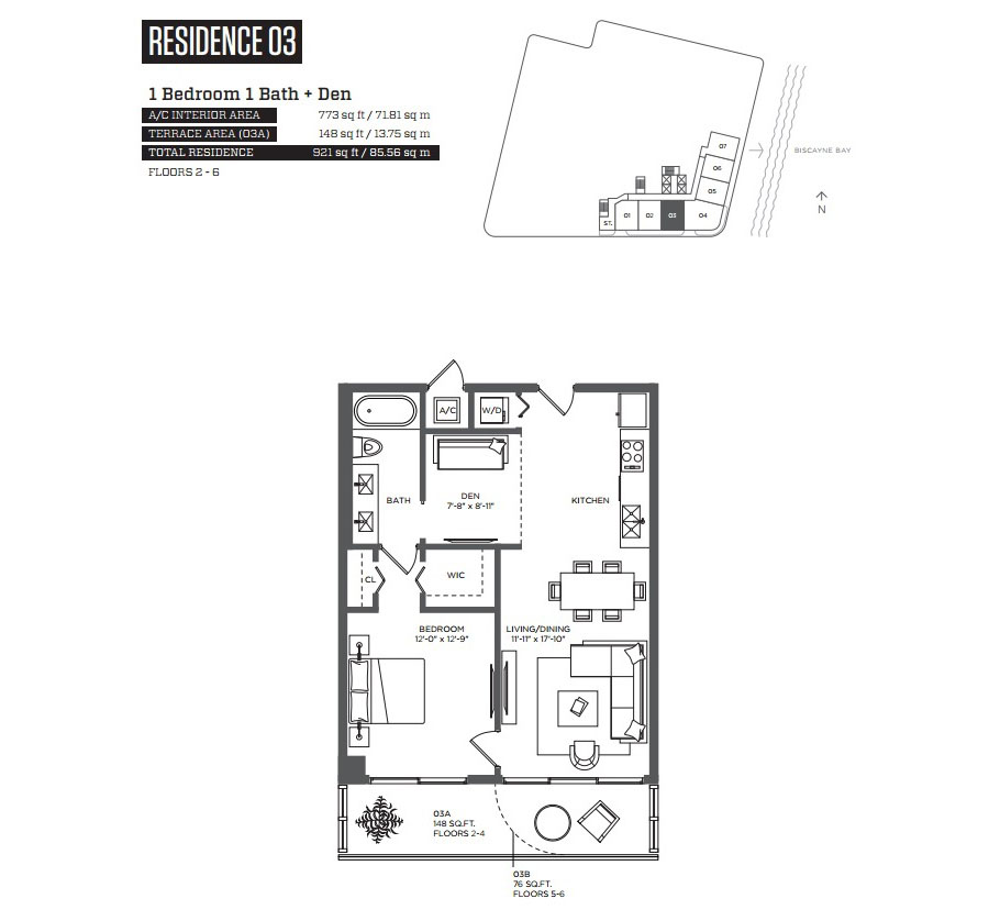 Hyde Midtown - Floorplan 5