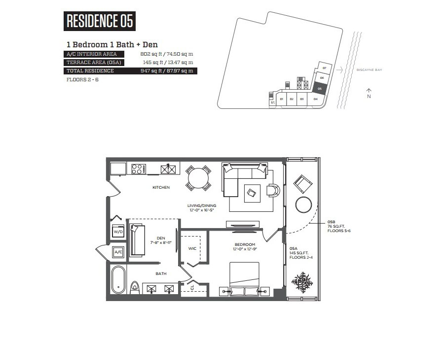 Hyde Midtown - Floorplan 6