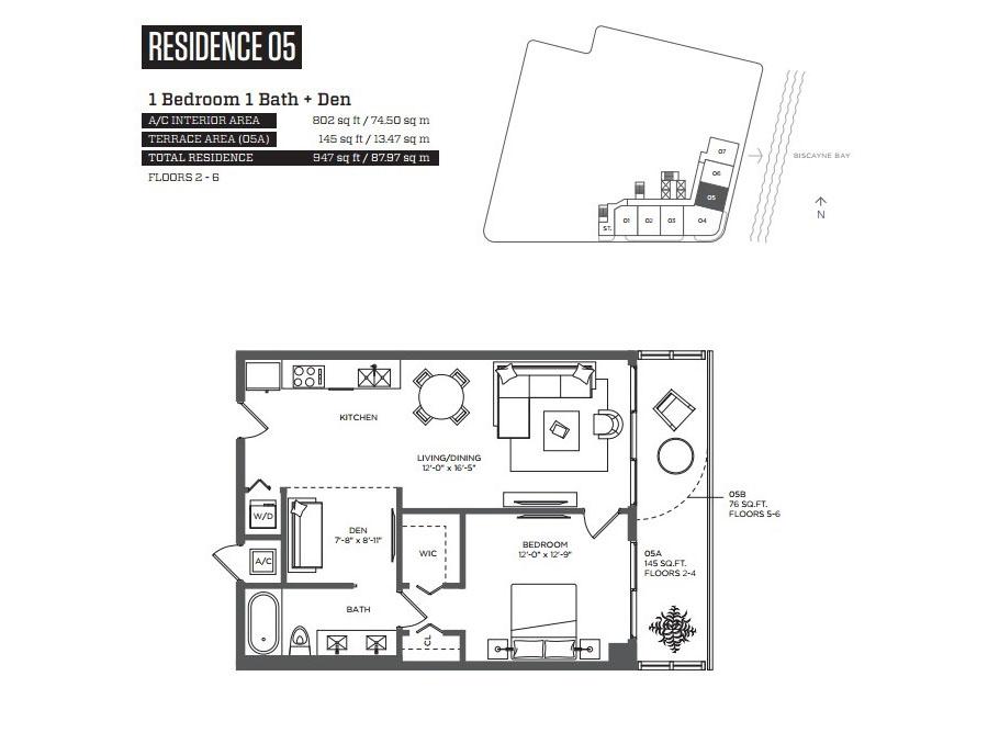 Hyde Midtown - Floorplan 6