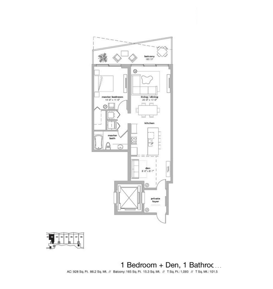 Icon Bay - Floorplan 3