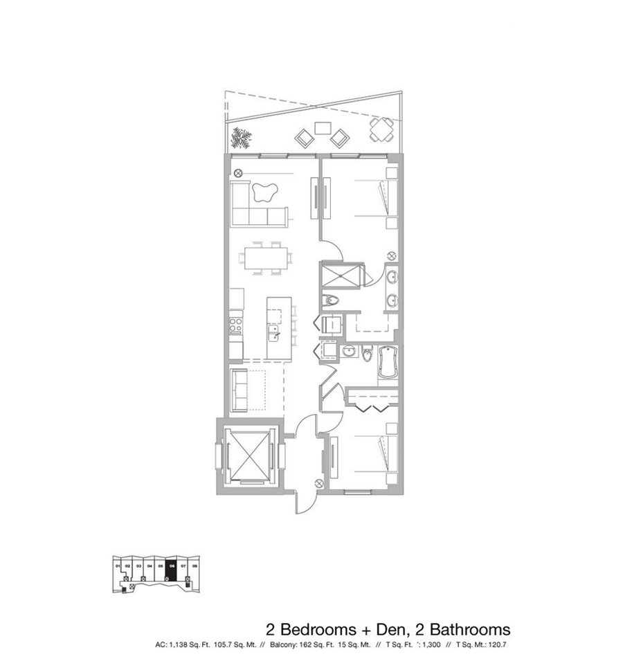 Icon Bay - Floorplan 4