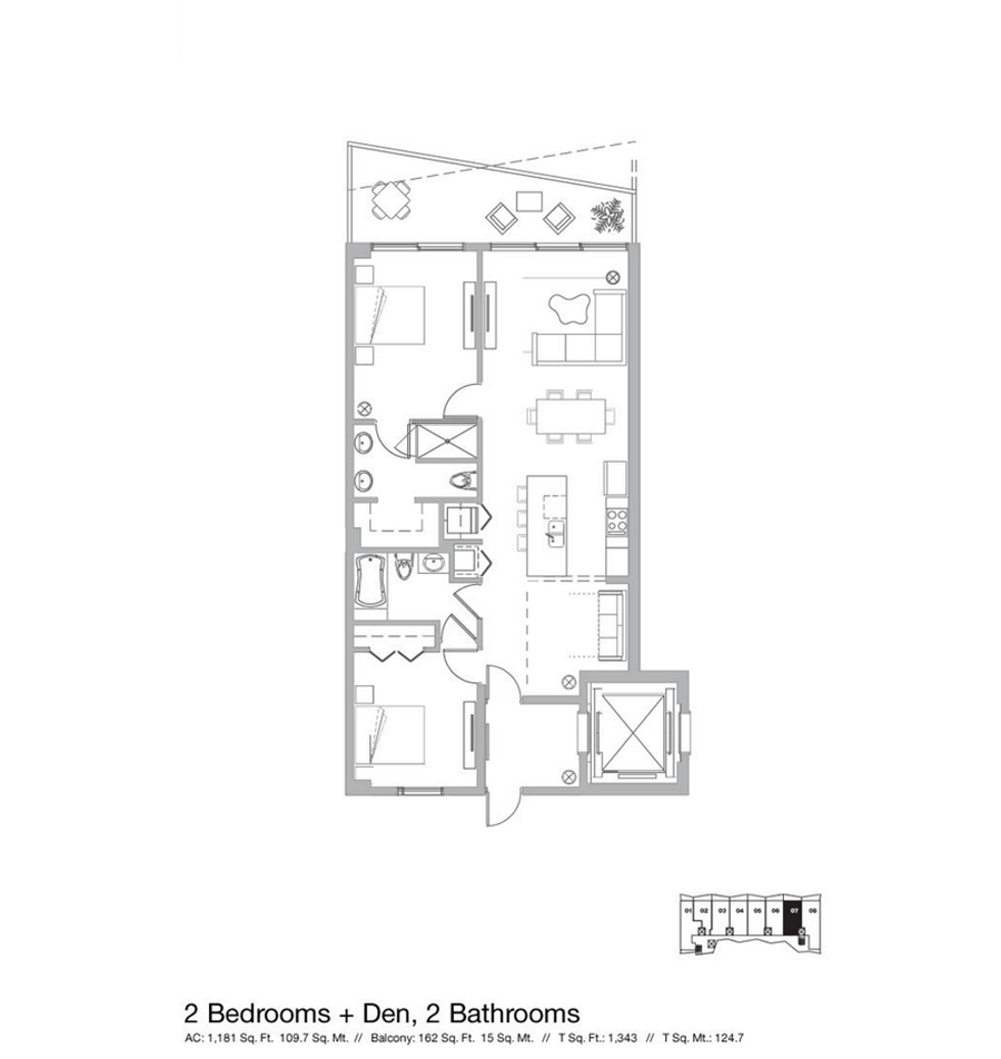 Icon Bay - Floorplan 6
