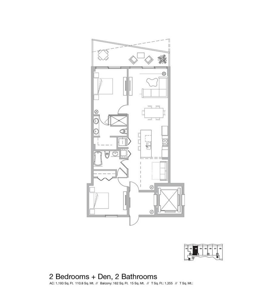 Icon Bay - Floorplan 7