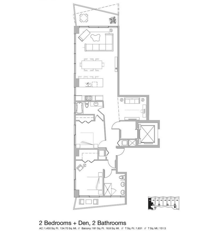 Icon Bay - Floorplan 8
