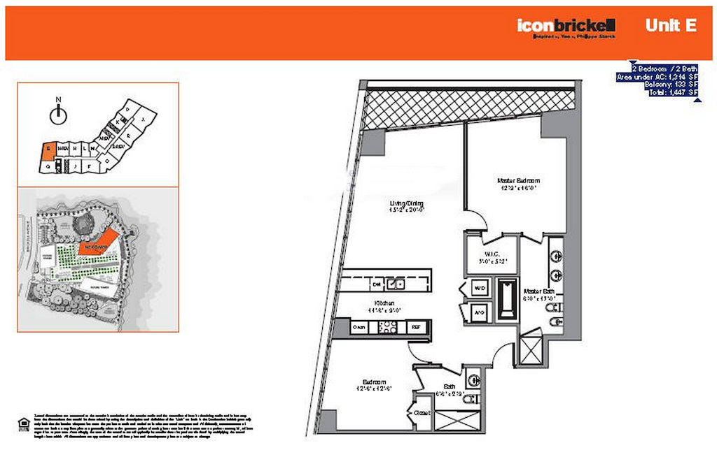 Icon Brickell - Floorplan 2