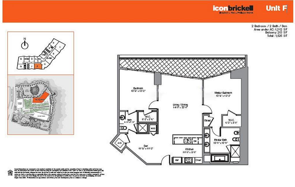 Icon Brickell - Floorplan 3