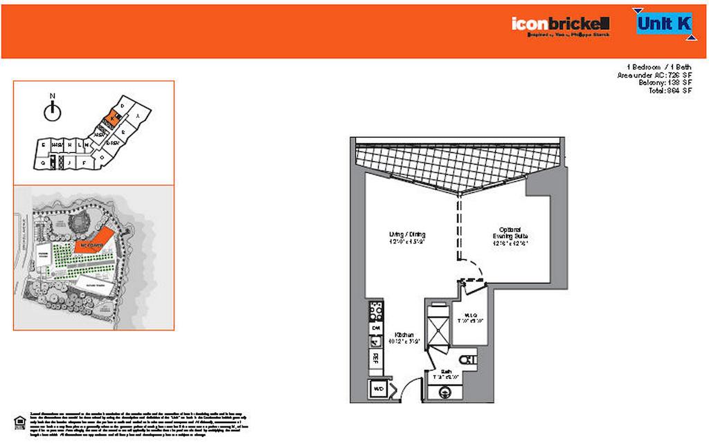 Icon Brickell - Floorplan 4