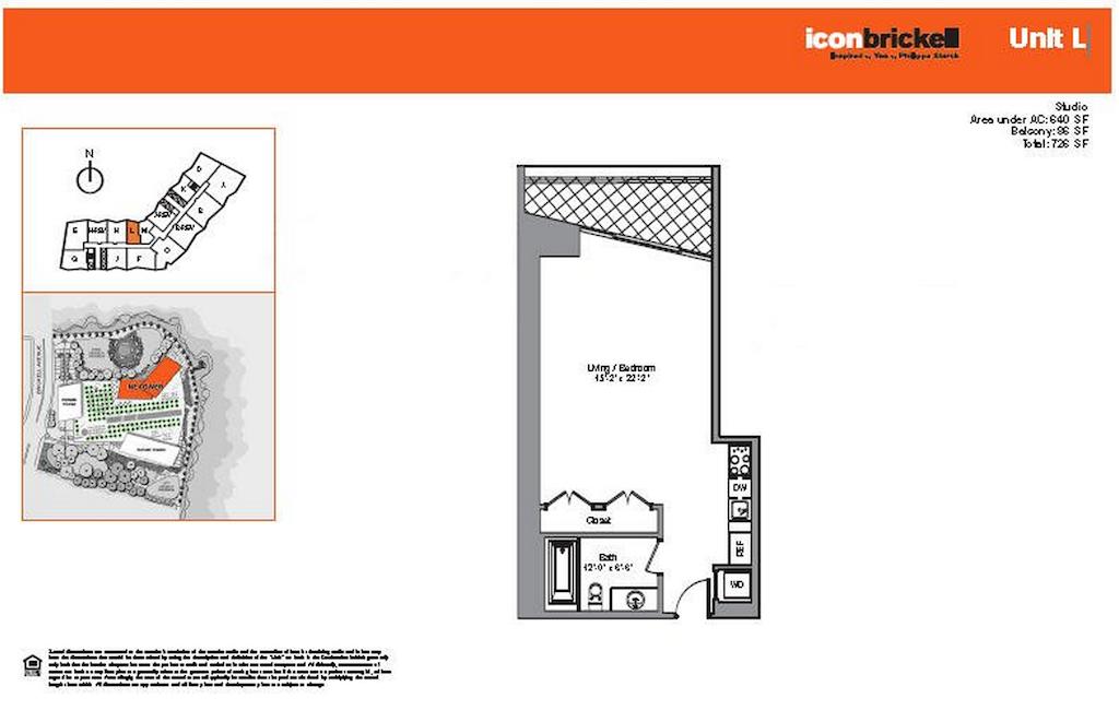 Icon Brickell - Floorplan 5