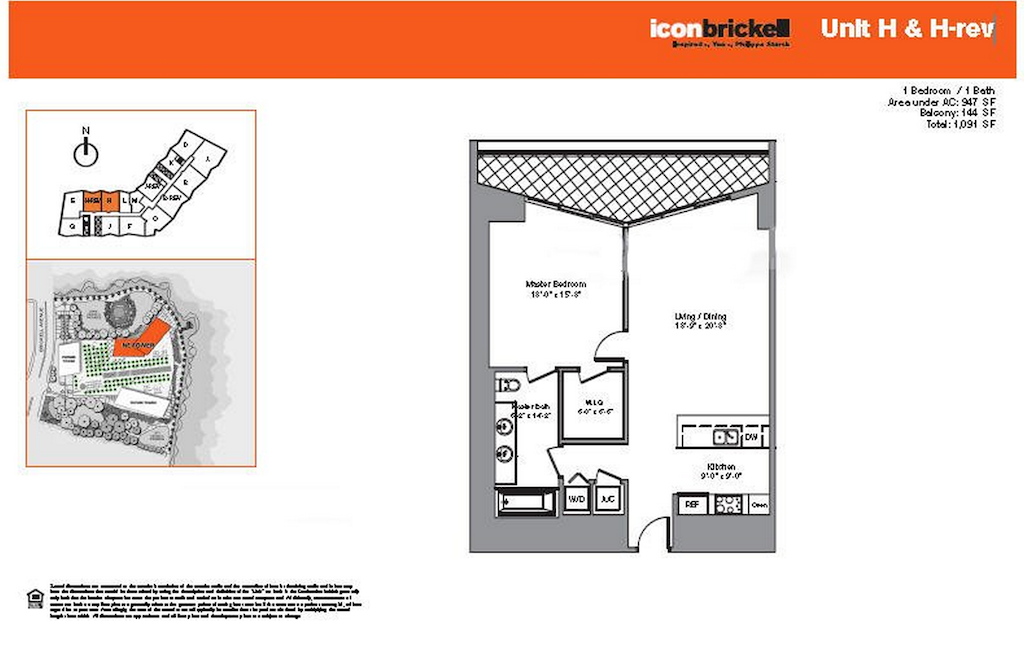 Icon Brickell - Floorplan 6