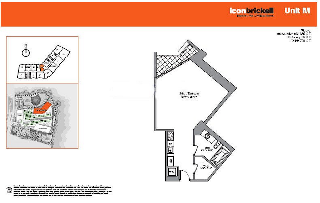 Icon Brickell - Floorplan 7