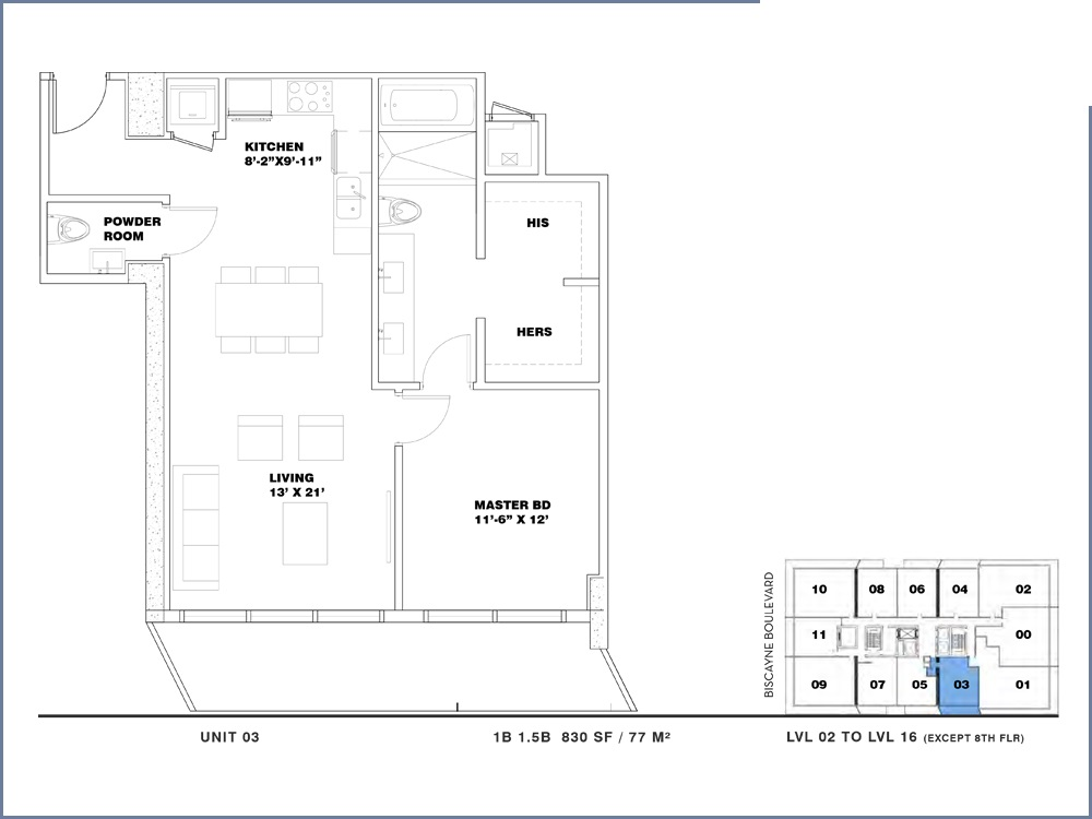ION East Edgewater - Floorplan 1