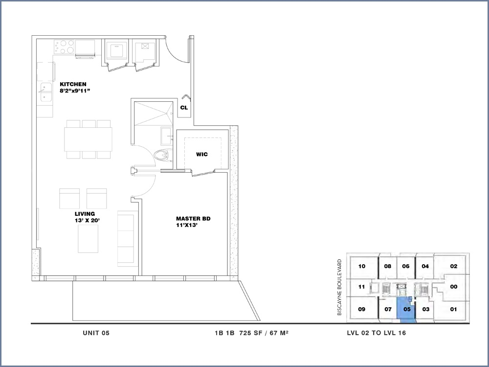 ION East Edgewater - Floorplan 2