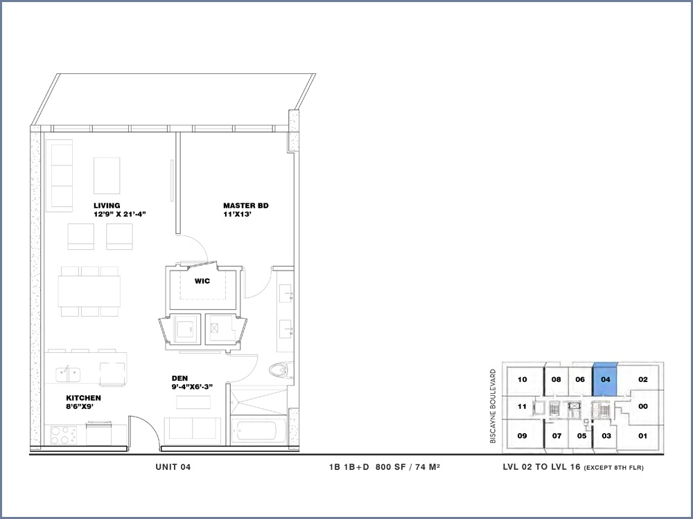 ION East Edgewater - Floorplan 3