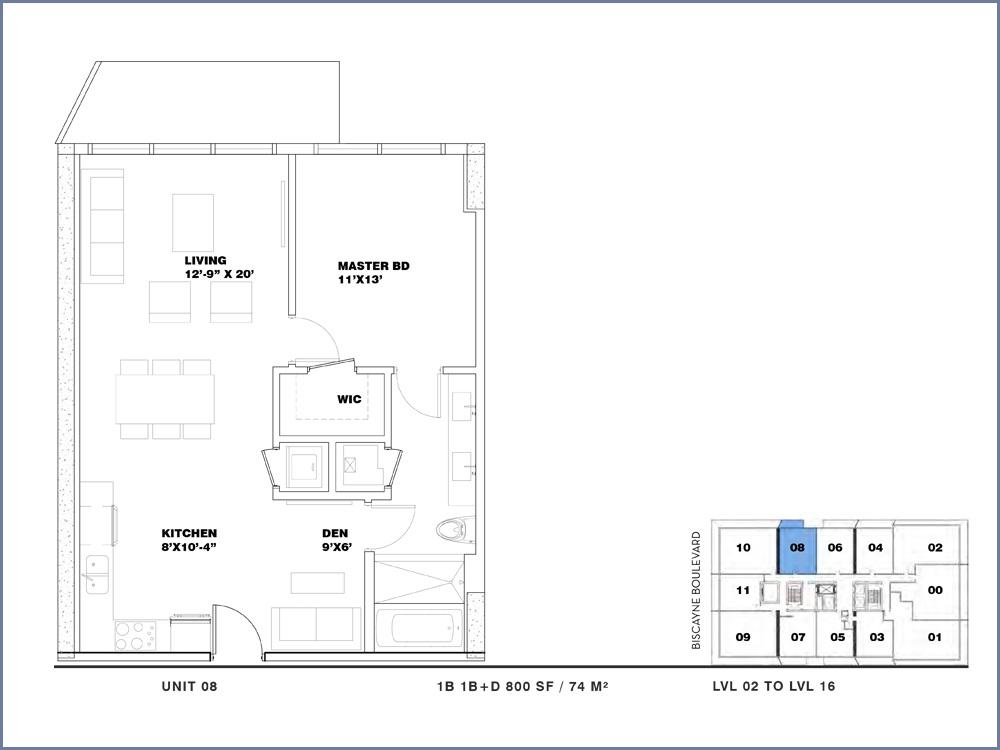 ION East Edgewater - Floorplan 5