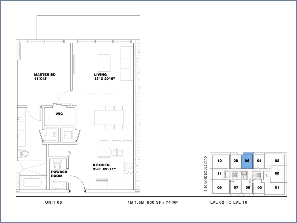 ION East Edgewater - Floorplan 6