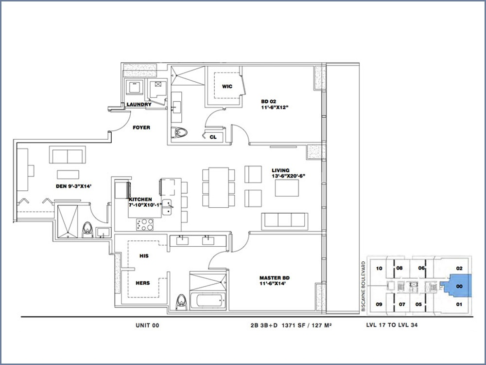 ION East Edgewater - Floorplan 7