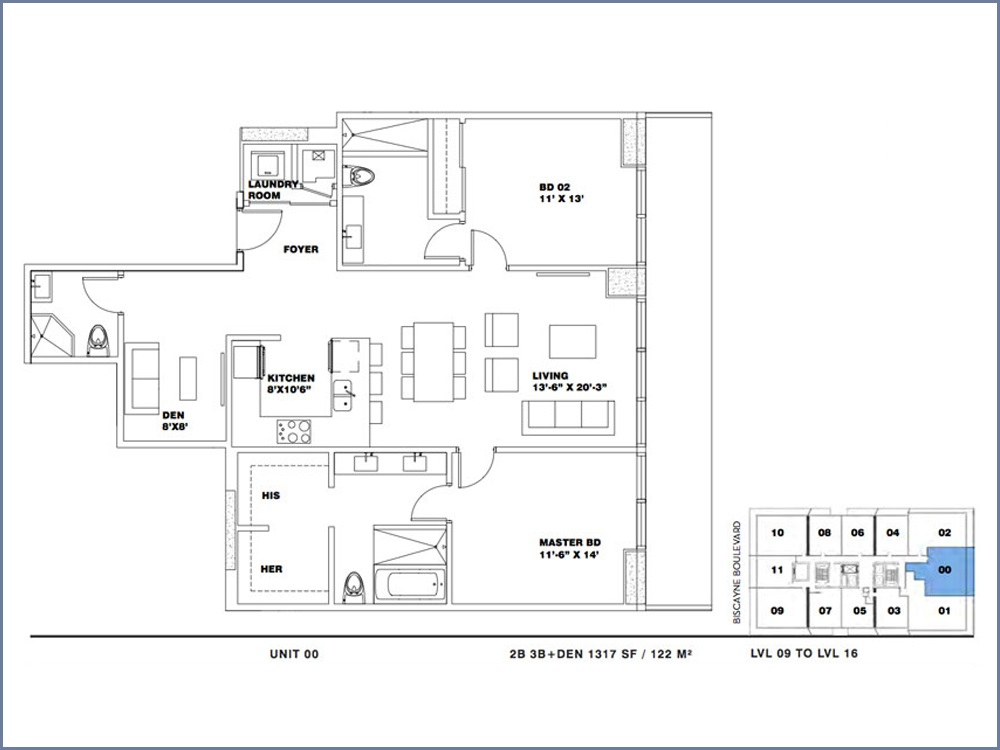 ION East Edgewater - Floorplan 8