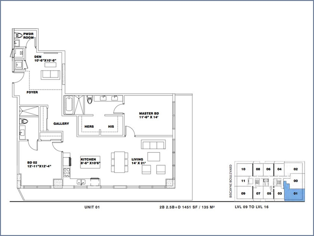 ION East Edgewater - Floorplan 9