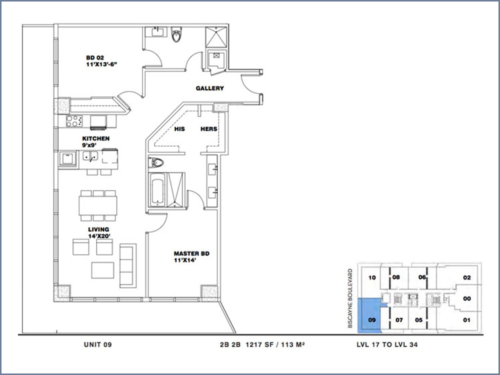 ION East Edgewater - Floorplan 11