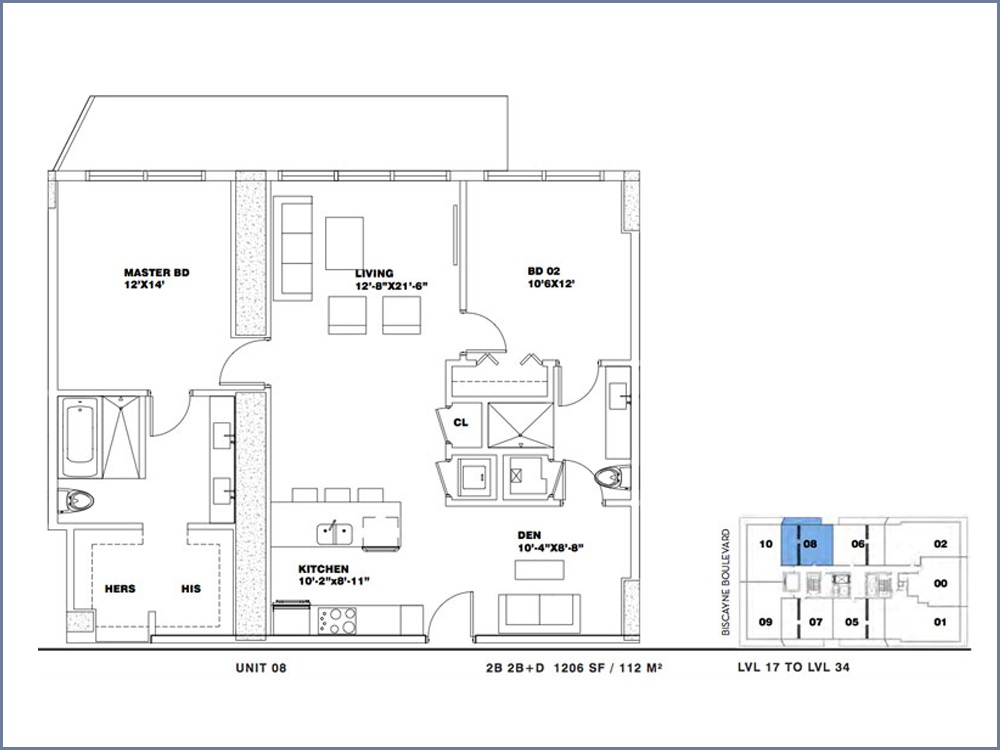 ION East Edgewater - Floorplan 13