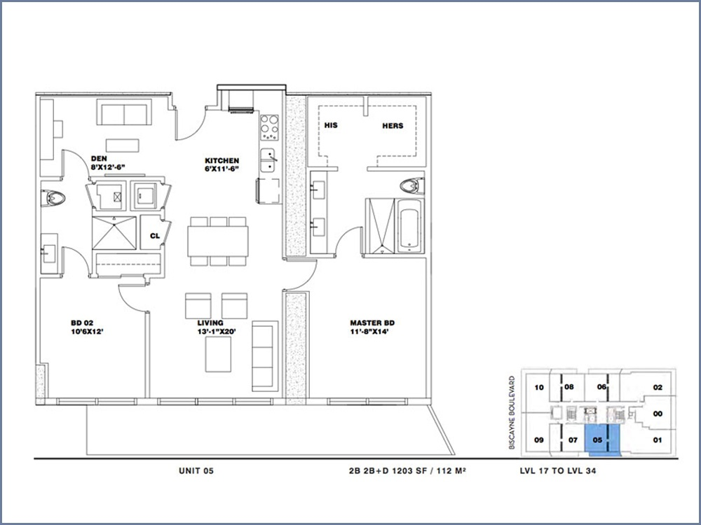ION East Edgewater - Floorplan 14