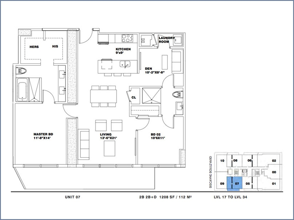 ION East Edgewater - Floorplan 15