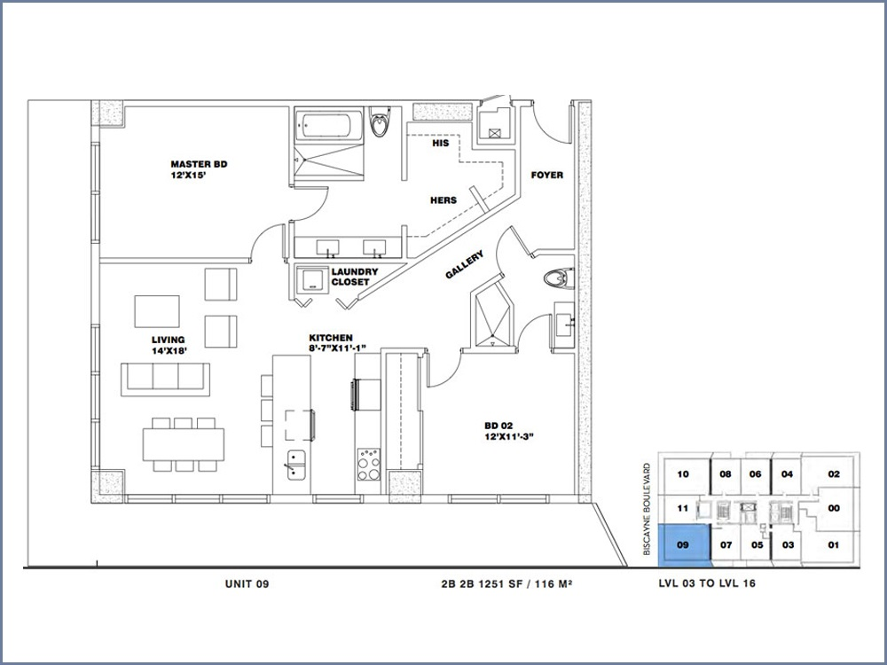 ION East Edgewater - Floorplan 16