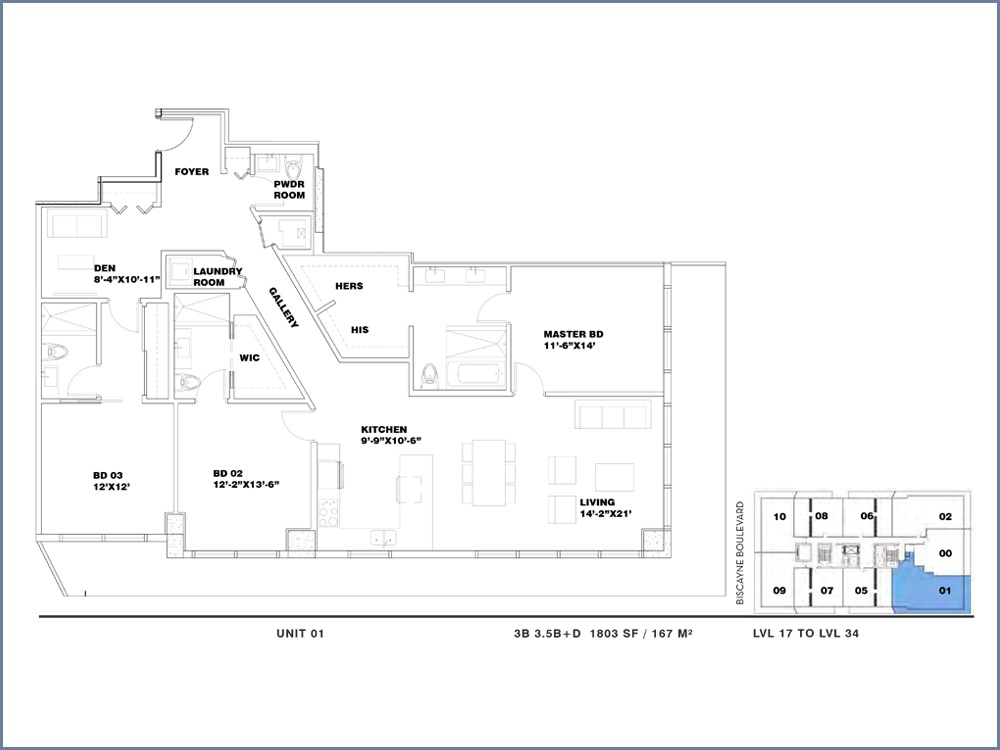 ION East Edgewater - Floorplan 17