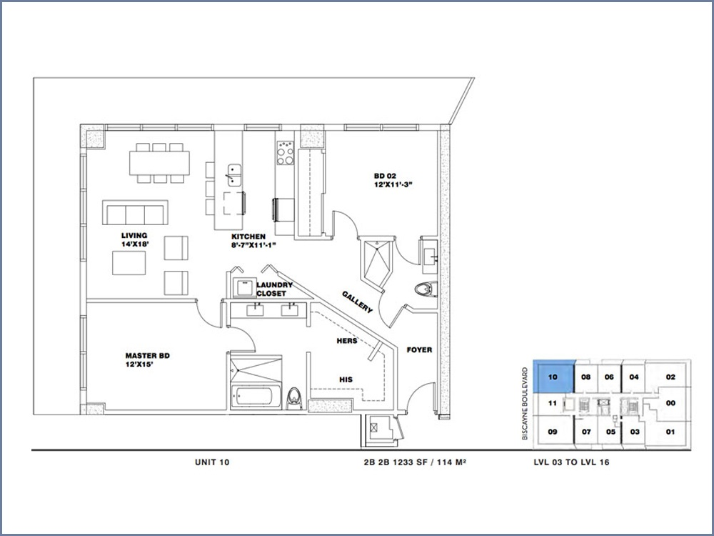 ION East Edgewater - Floorplan 18