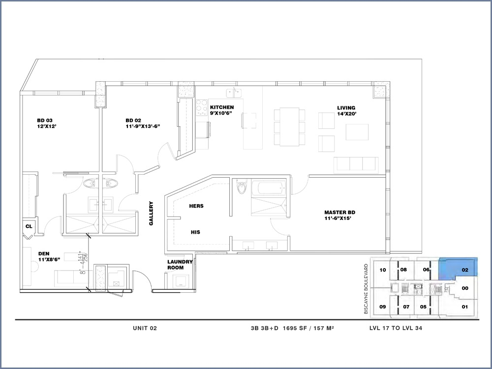 ION East Edgewater - Floorplan 19
