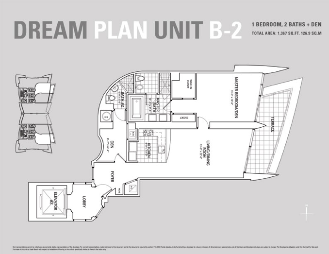Jade Beach - Floorplan 1