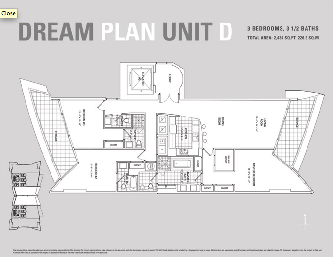 Jade Beach - Floorplan 5