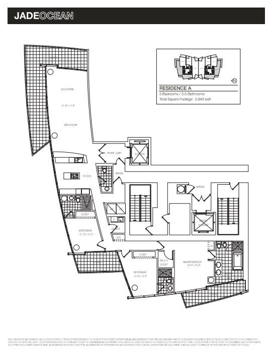 Jade Ocean - Floorplan 1