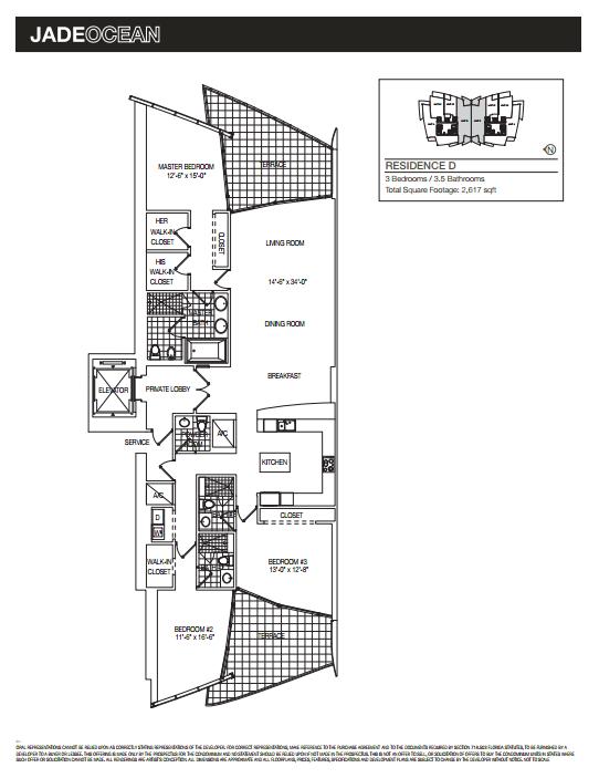 Jade Ocean - Floorplan 6