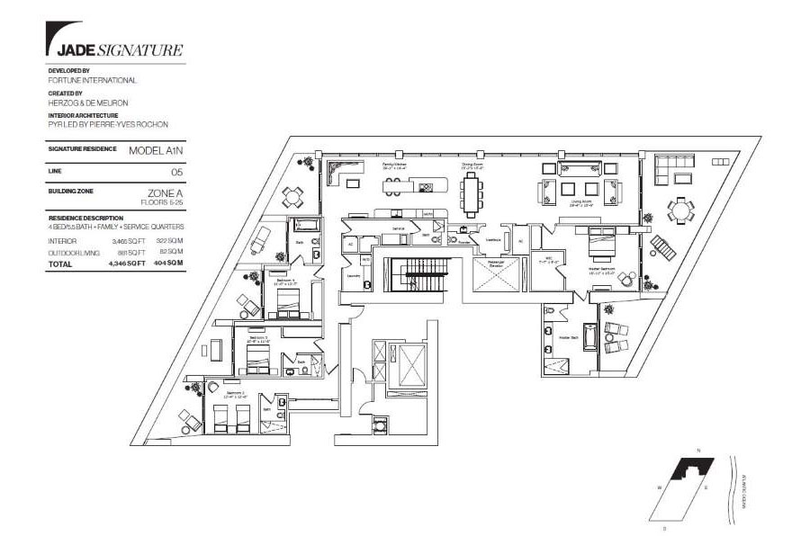Jade Signature - Floorplan 1