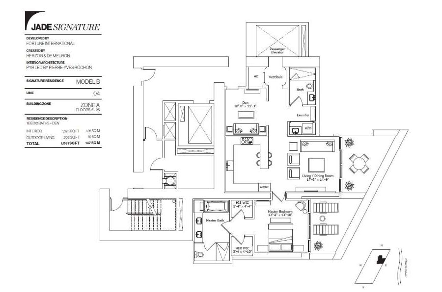 Jade Signature - Floorplan 3