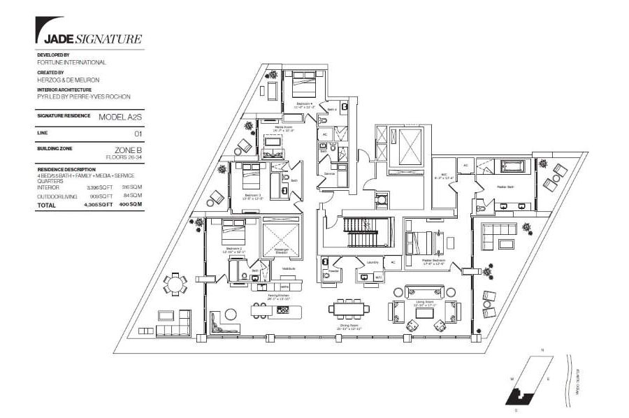 Jade Signature - Floorplan 4