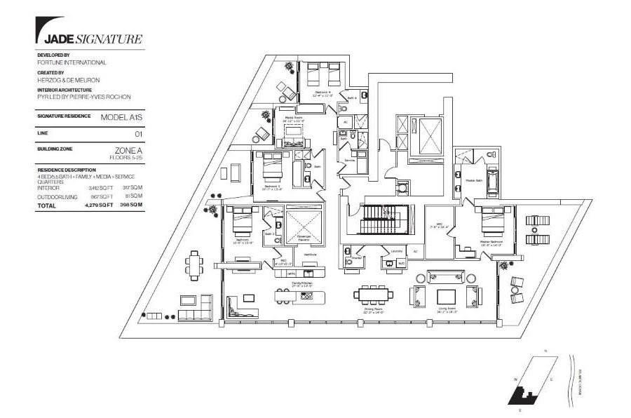 Jade Signature - Floorplan 5