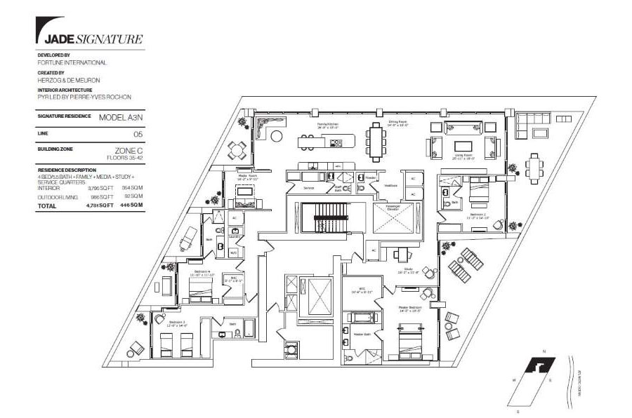 Jade Signature - Floorplan 6