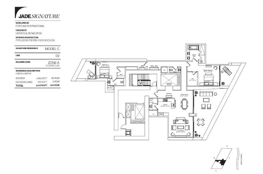 Jade Signature - Floorplan 7