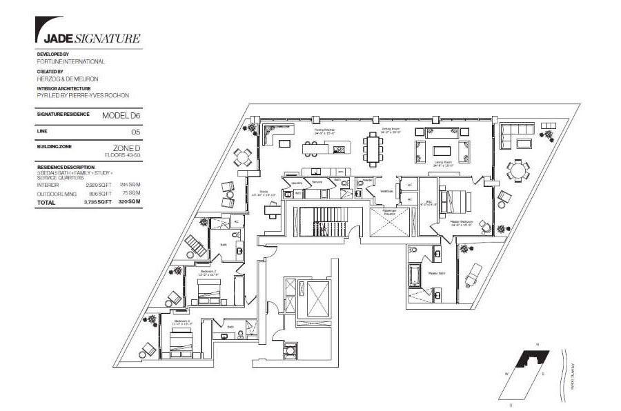 Jade Signature - Floorplan 13