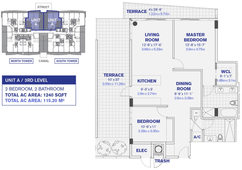 KAI at Bay Harbor Islands - Floorplan 1