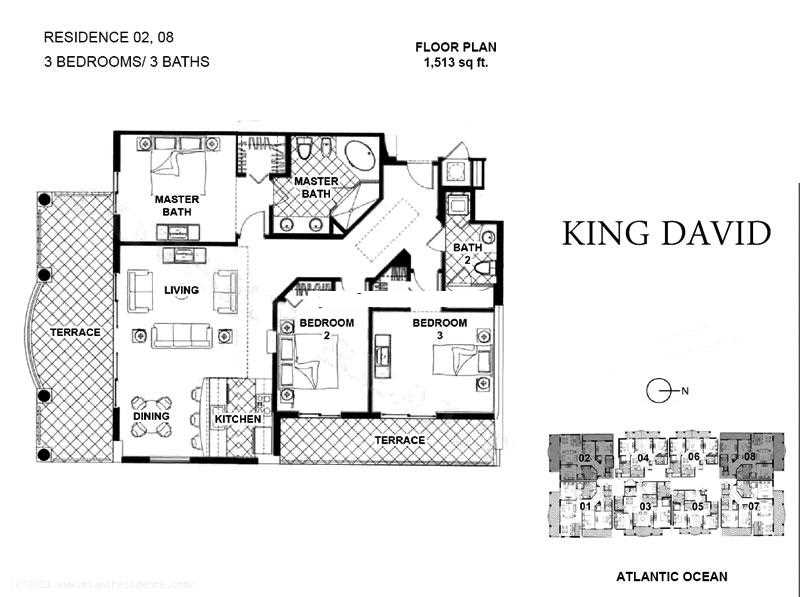 King David - Floorplan 1