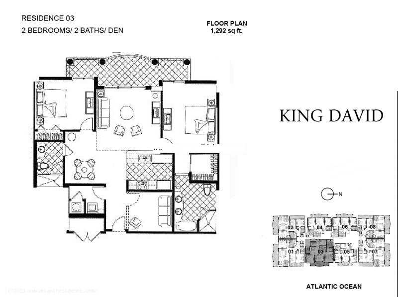King David - Floorplan 2