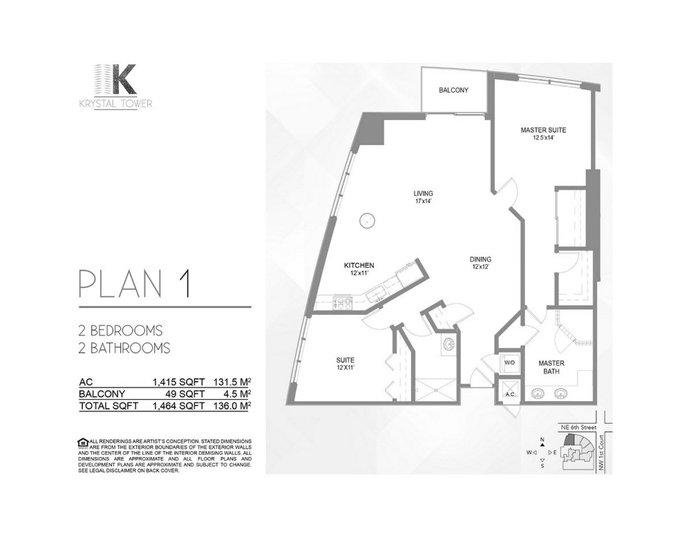 Krystal Tower - Floorplan 1