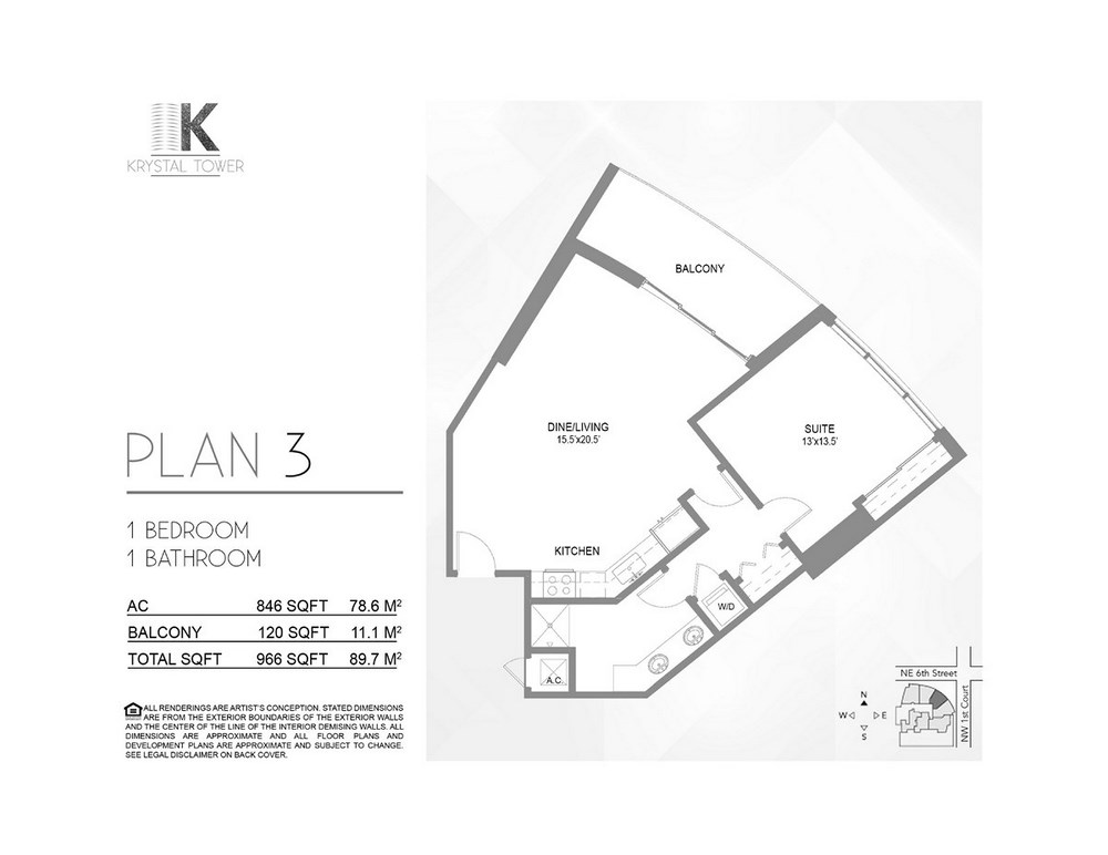 Krystal Tower - Floorplan 2